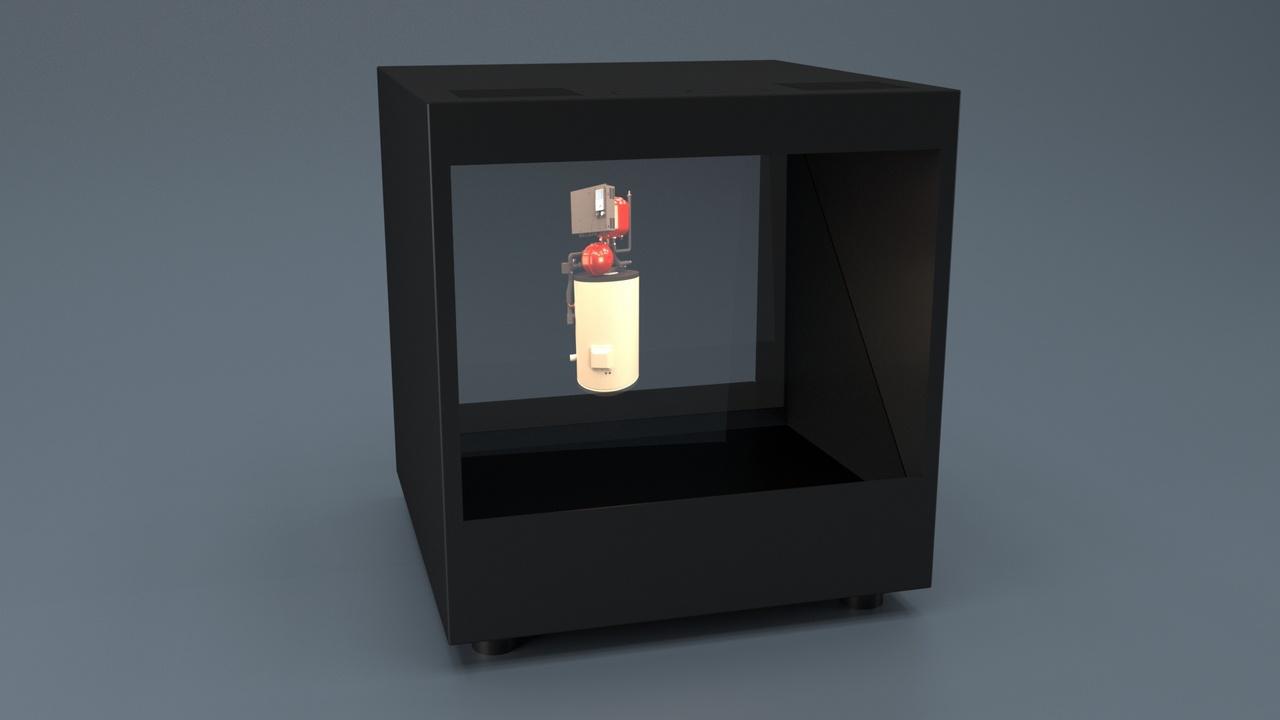 Holocube Hologram HC15 410x429x410mm Gustav