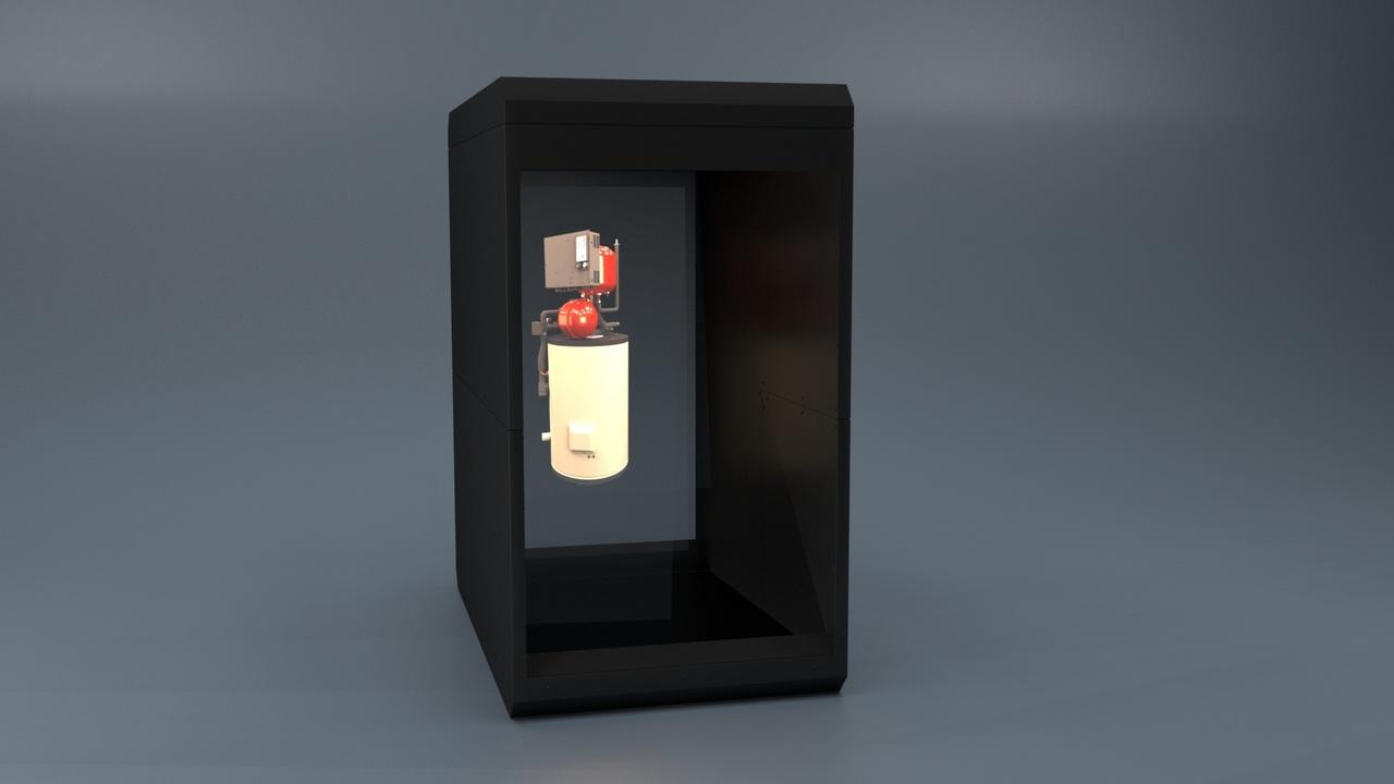 Holocube Hologram HC70V 1080x1955x1820mm Gustav