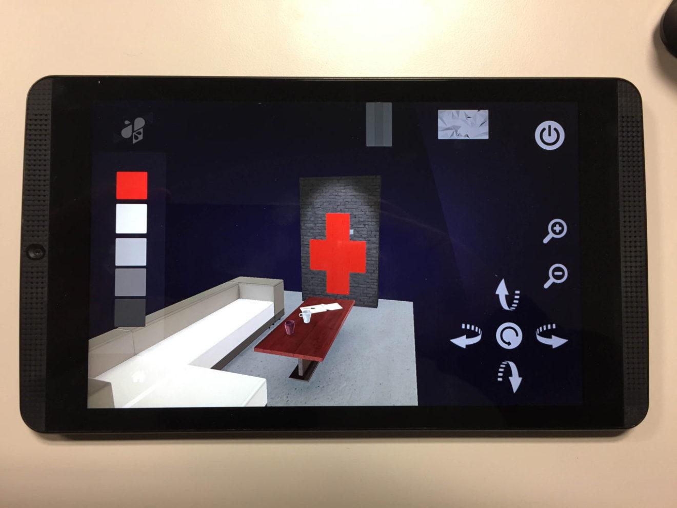 Application 3D temps réel