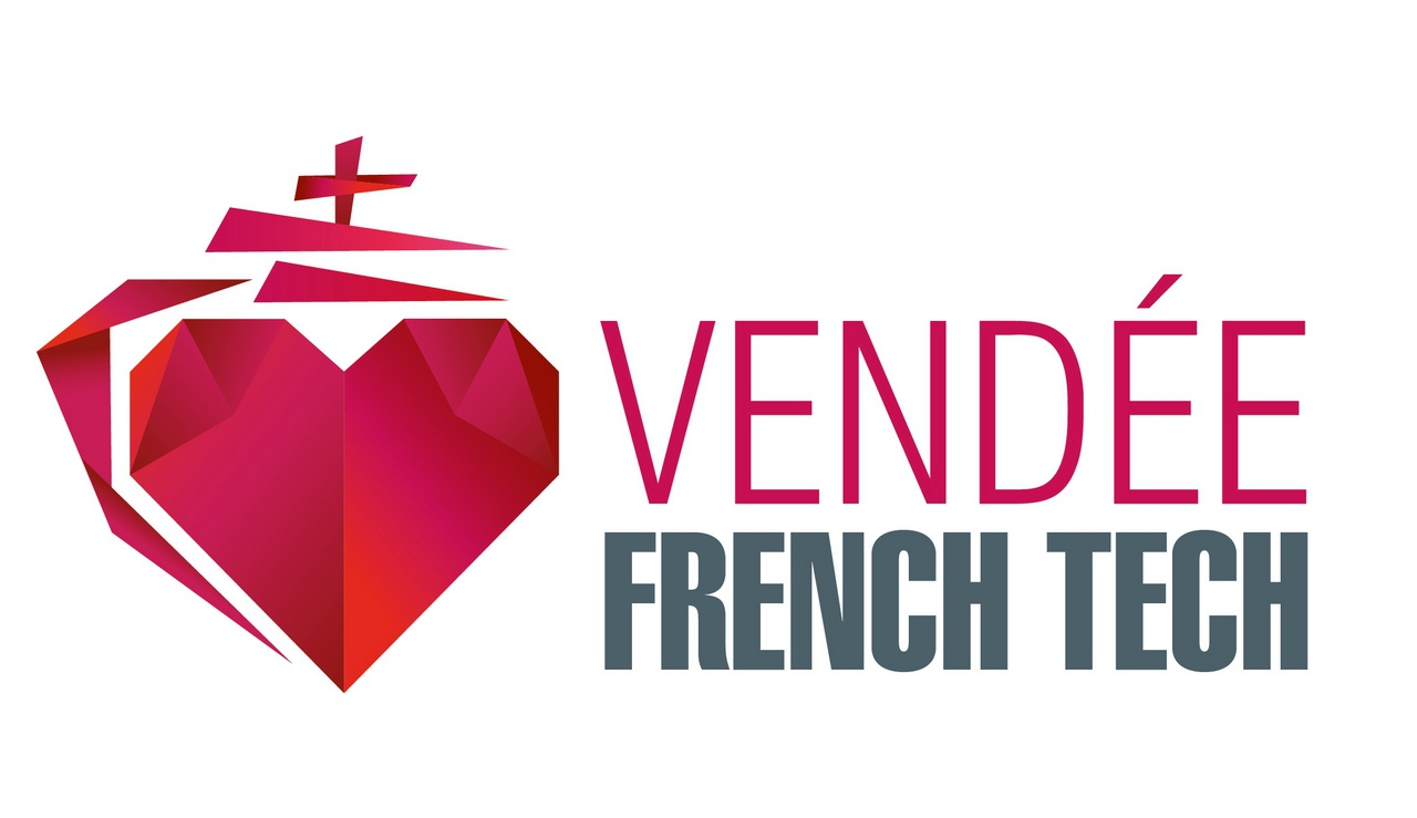 Logo Vendée french tech partenaire de gustav by cocktail