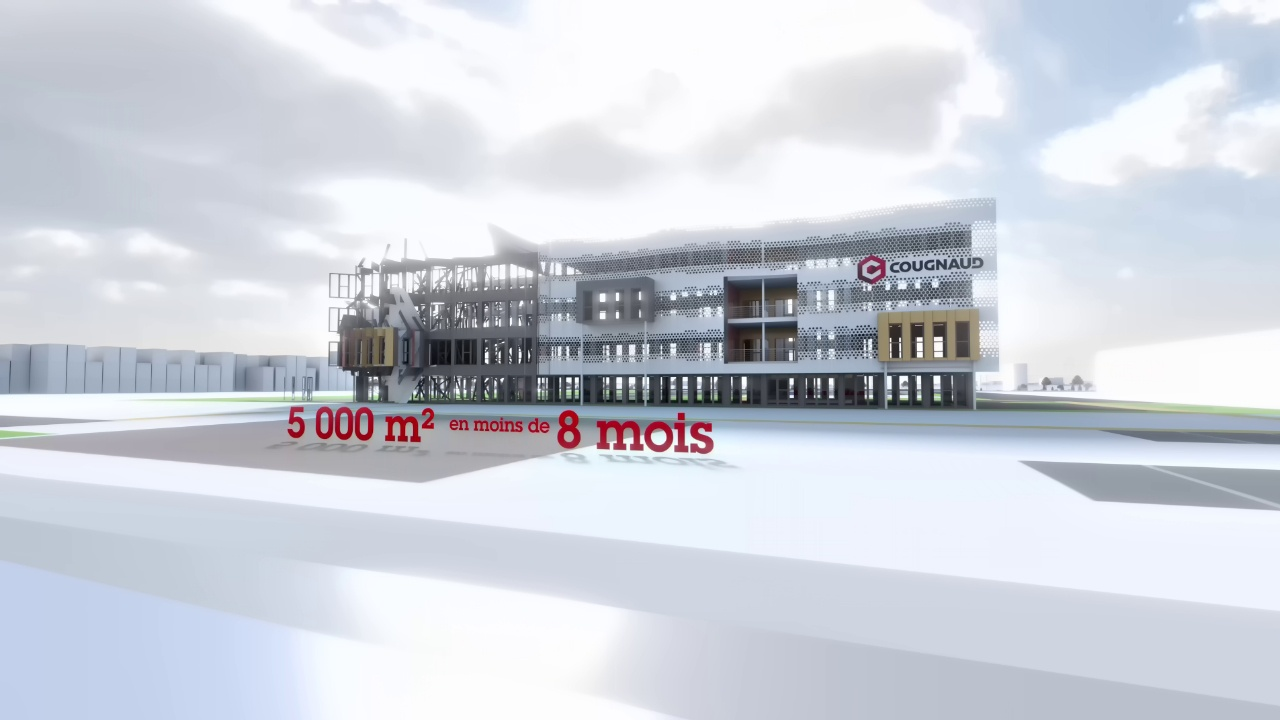 Animation photorealiste groupe Cougnaud Construction Mouilleron le Captif