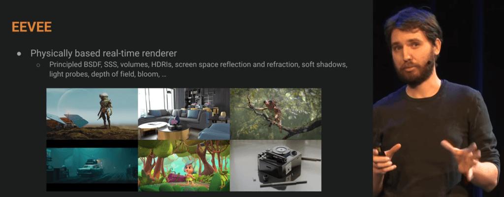 blender conference Blender2.8 Status report