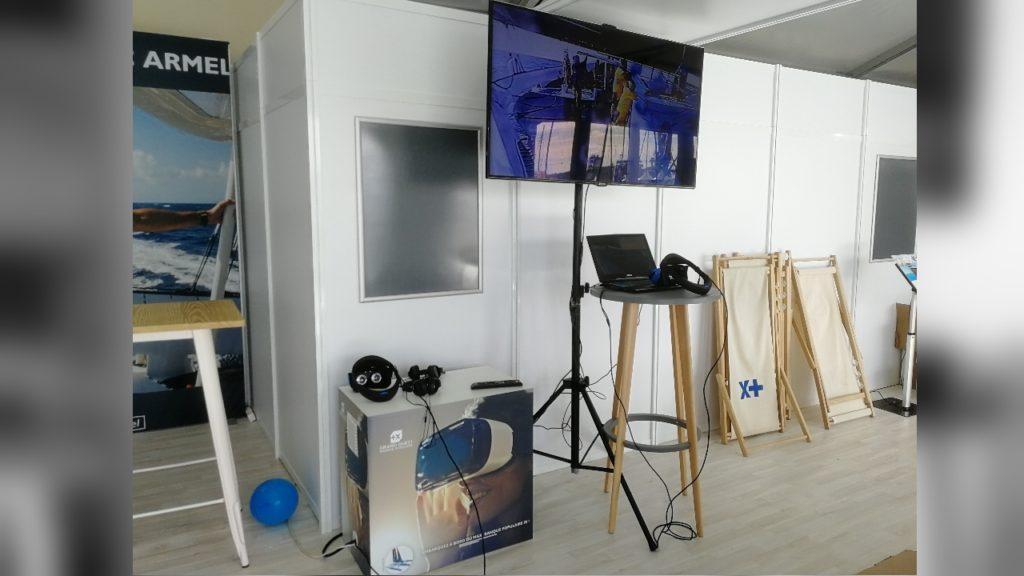 dispositif realite virtuelle route du rhum banque populaire