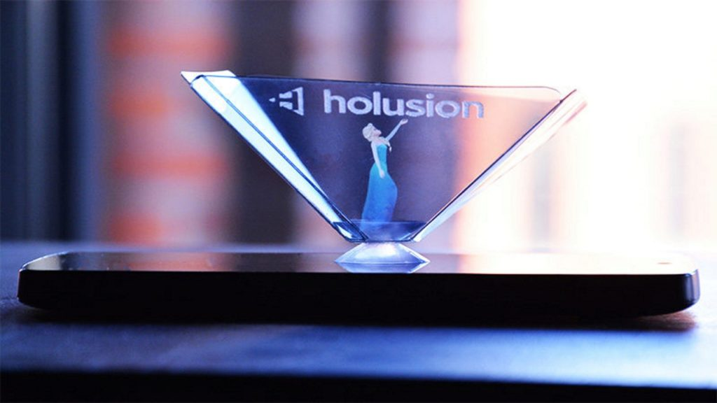 pixel smartphone holusion hologramme gustav