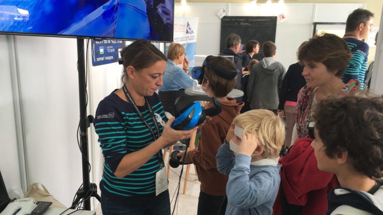 route du rhum banque populaire realite virtuelle bateau