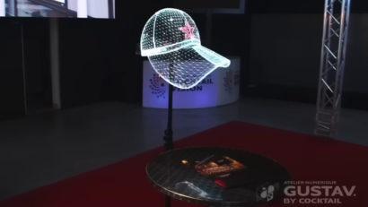 holovisyon hologramme gustav cocktail vision la roche sur yon