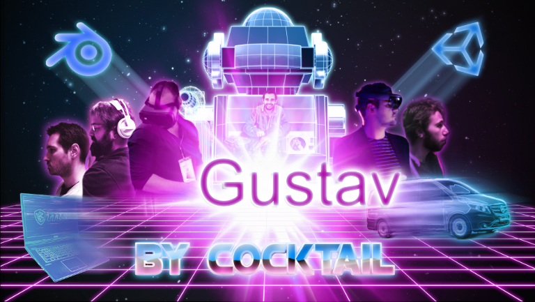 equipe gustav by cocktail modelisation 3d