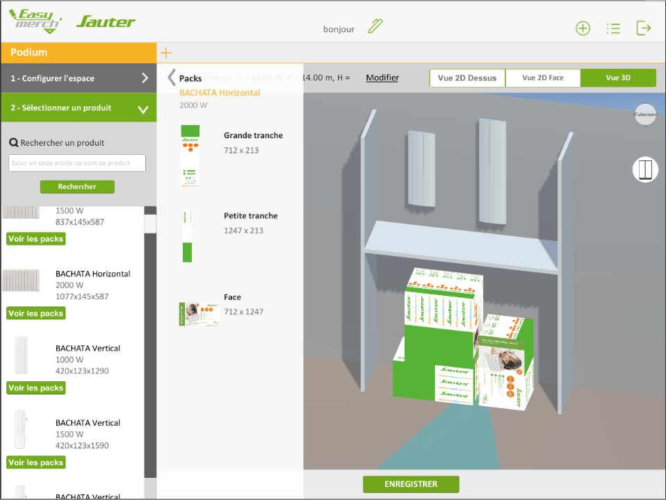 application mobile configurateur 3d vendee